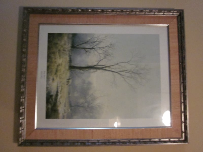 """Delhart Winberg Limited Edition Framed Signed Print """"Wintry Pastoral"""" 43567c06-f365-4f6c-97f6-d16739e194b4"""