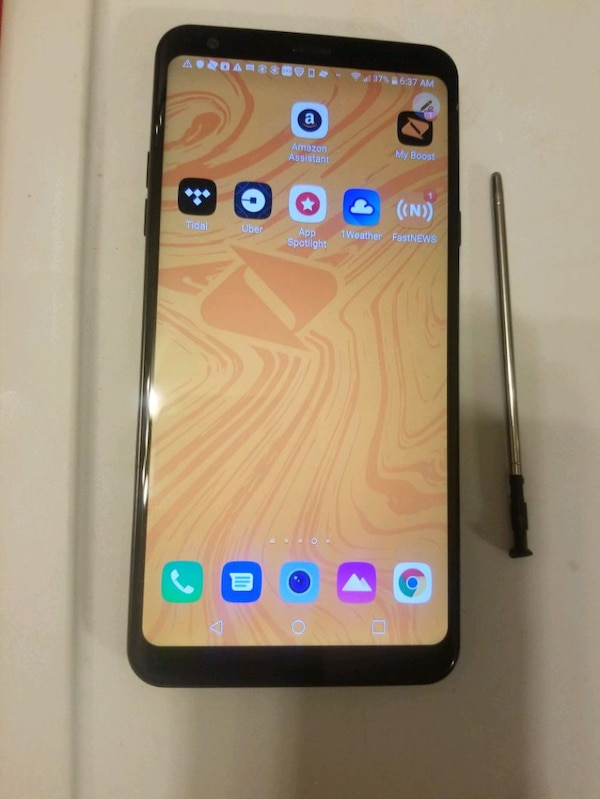 LG STYLO 4 BOOST MOBILE Nice