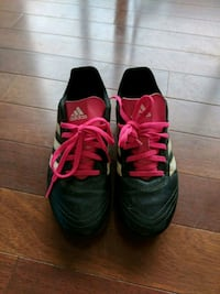 Pre Owned Kids Adidas Soccer Cleats Size 3.5 Charlotte