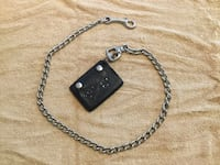 Leather wallet with the chain Ringwood, 07456
