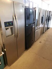 Stainless side by side refrigerators  Dearborn Heights