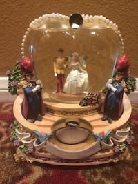 "Disney cinderella water globe music plays ""so this is love"" Camarillo, 93010"