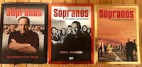 Sopranos First Three Seasons (never used) Cape Coral, 33991