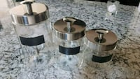 3 piece Canister set. Calgary, T3N 0E4