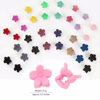 20pcs baby jaw clips for girls