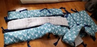 Crib Bumpers 2 sets Woodland dreams reversible baby crib bumper 2 pack Eatontown, 07724