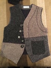 Dolce and Gabbana men's wool vest sz M/L