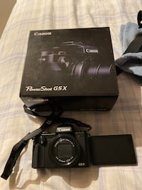 Canon PowerShot G5x like new Burnaby, V3N 1H4