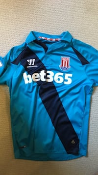 blue and black Adidas Fly Emirates jersey Denver, 80209