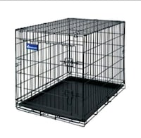 black metal folding dog crate Lafayette, 80026