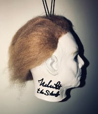 Mini Michael Myers Mask Autographed by Nick Castle