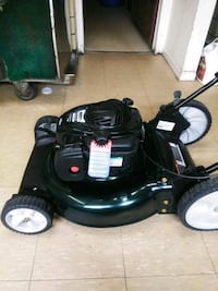 black and gray push mower Evansville, 47713