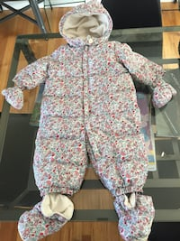 Baby down-filled snow-suit 6-12 months Ottawa, K1L 5L5