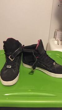 pair of black-and-white high top sneakers Corpus Christi, 78414
