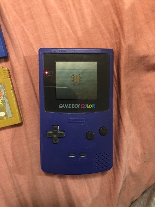 Gameboy color and games
