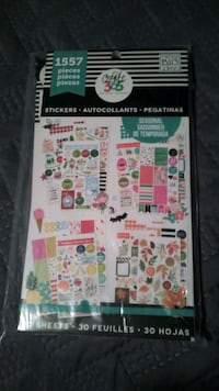 Scrapbook Stickers 2 Pack