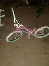 toddler's pink and white bicycle Modesto, 95354