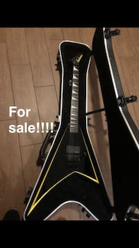 Jackson Japanese Shop RR24 Black and yellow with EMG ALX and gain boost Deerfield Beach, 33064