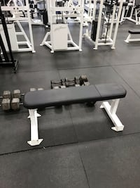 Flat flex Fitness bench