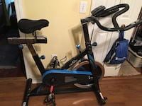 black and blue stationary bike Washington, 20024