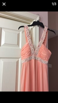 Pink and silver beaded tank dress Frederick, 21703