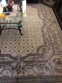 gray and black floral area rug Blakely, 18452