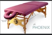 Perfect condition massage bed