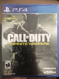CALL OF DUTY infinite warfare PS4 brand new/never opened  Augusta, 30909