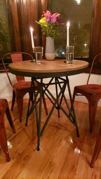 Industrial design bistro table Washington, 20009