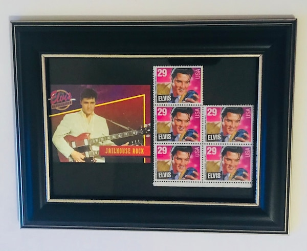 Used 5 Unused Elvis Presley 29 Cent Stamps For Sale In Little Elm