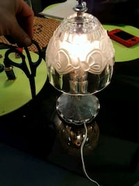 All Glass Lamp beautiful little lamp Victoria, V8X 1K2
