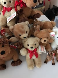 Christmas Bears for kids or Decoration. $10.00 for all. Laurel, 20723