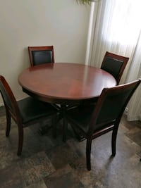 Dinning table set-  Round table and chairs