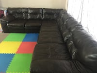 9 month old living room sofa