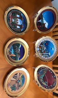 Land of Fable collector plates - 6 piece set Belcamp, 21017