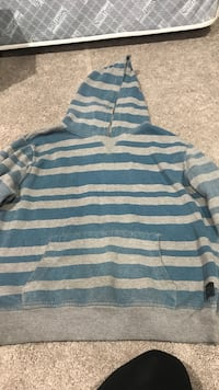 Blue and white striped sweater  Chestermere, T1X 0R1