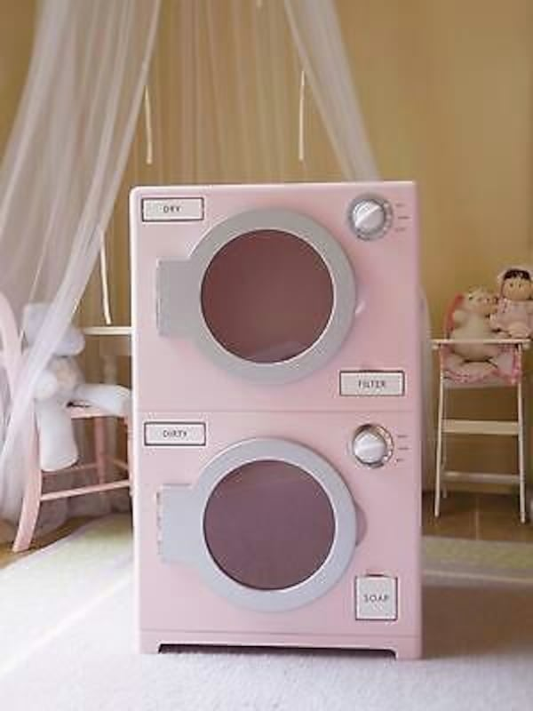 Used Pottery Barn Kids Pink Washer