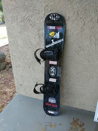 gray and black snowboard Alpine, 91901