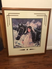 Framed Picture Saint George, 84790