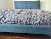 New Modern Blue Queen Bed  Silver Spring, 20910
