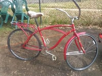 Red Huffy Bike missing brakes and gears $60