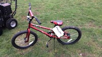 red and black BMX bike Joliet, 60432