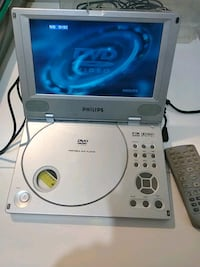 Philips lcd dvd portable