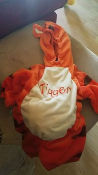 Tigger outfit worn once 3/6 months
