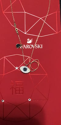 Swarovski evil eye necklace with warranty  Toronto, M1T 2B6