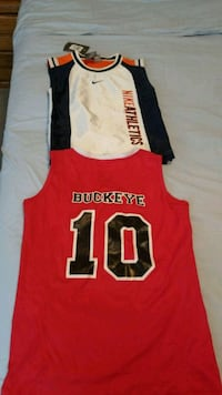 red and black tank top Columbus, 43232