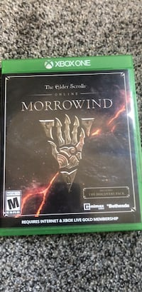 morrowind xbox one game with case South Berwick, 03908