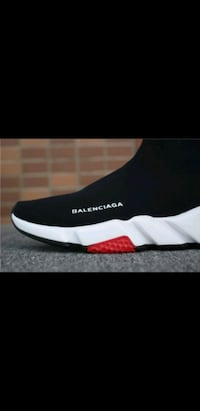 BRAND NEW RED BALENCIAGA TRAINER SOCK SNEAKERS  Toronto