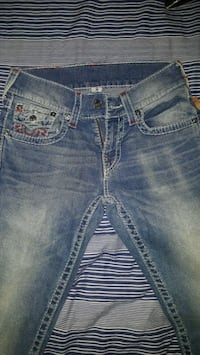 blue True Religion denim bottoms size 28 men Toronto, M2N 5X9