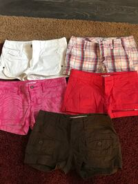 5 pairs of junior shorts size 3 excellent condition Crystal Lake, 60014